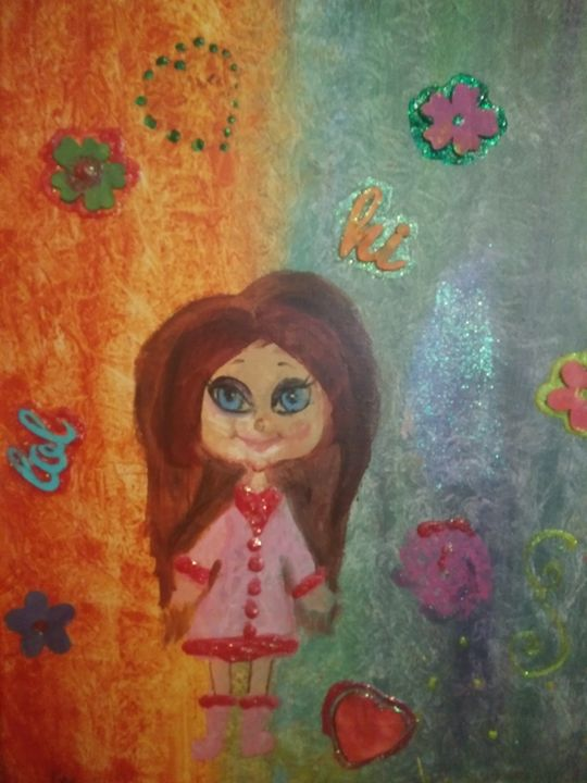 Blue Eyed Girl In Pink - BeInspired