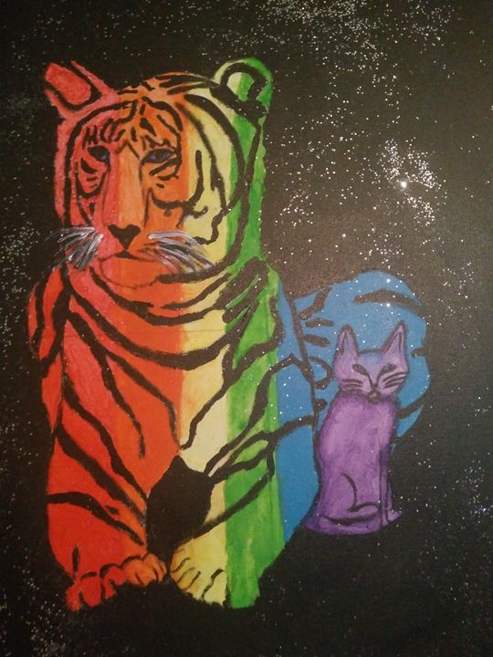 The purple cat - BeInspired