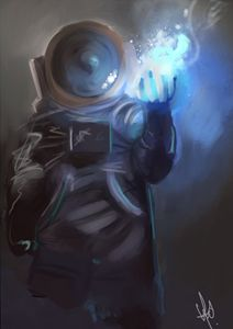 Astronaut sorcerer