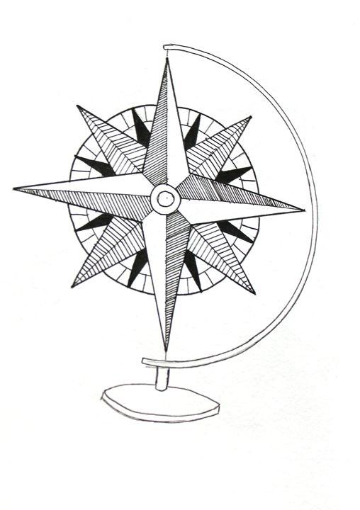 Boussole du monde - Laurine