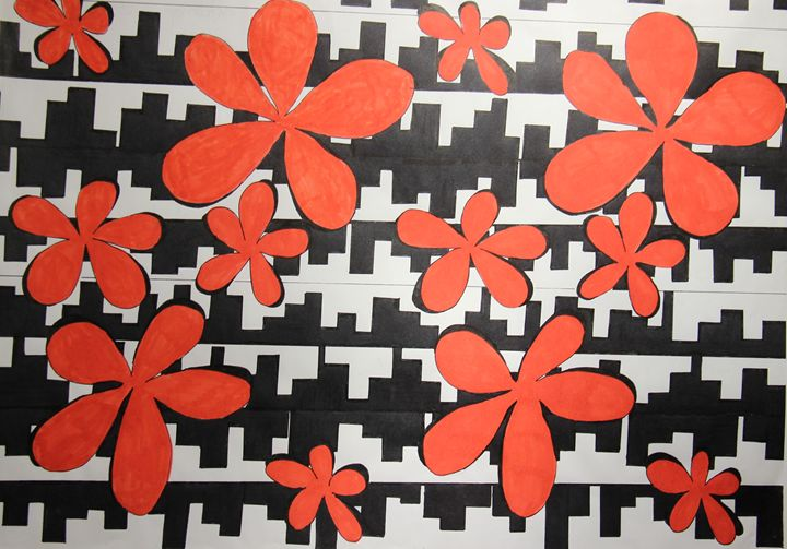 Ville fleurie - Laurine