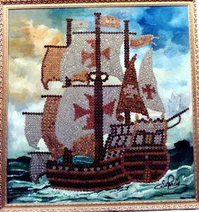 14. Painel Galeão Séc. XVI
