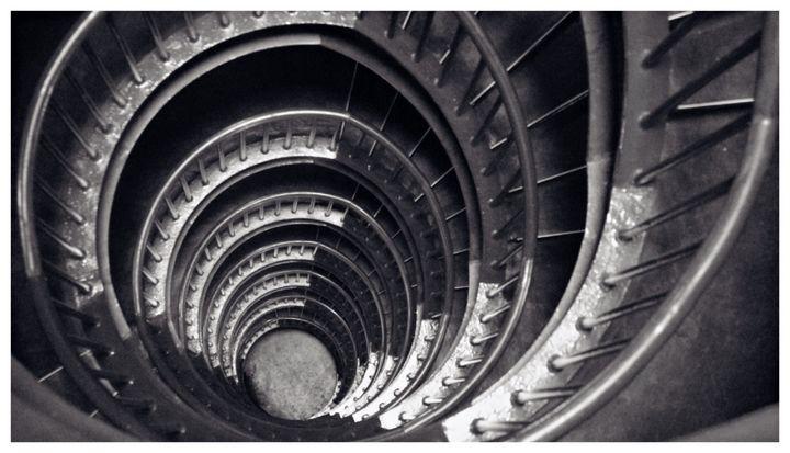 Spiral Staircase - Omni Photo Art
