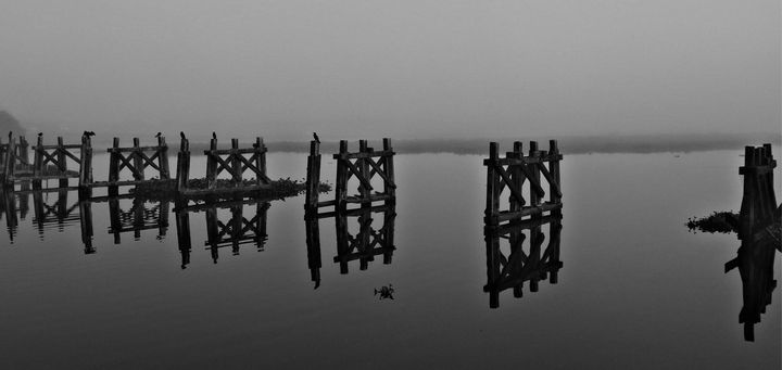 Misty Reflections - Omni Photo Art