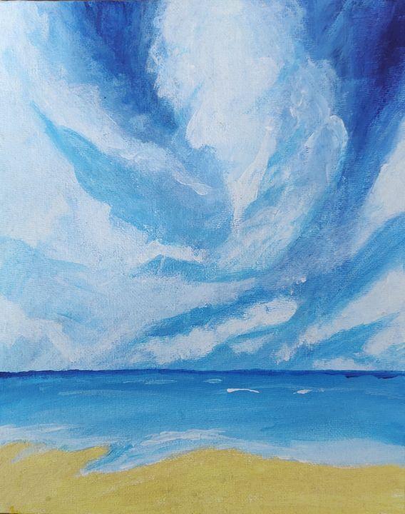 A beach day - Tanzo Arts