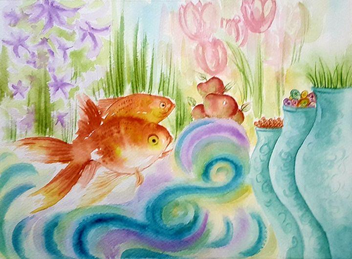 The gold fish - Shohreh's world