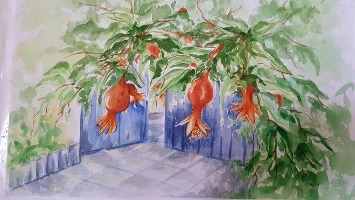 The sour pomegranates - Shohreh's world