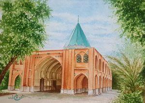 Persian monument