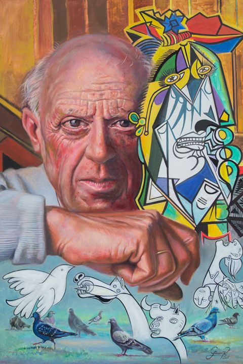 Pablo Picasso - Giovanidibuja