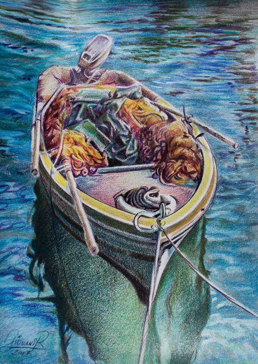 El bote - Giovanidibuja