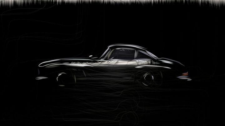 1954 Mercedes Benz 300 SL Gullwing 9 - CarsToon