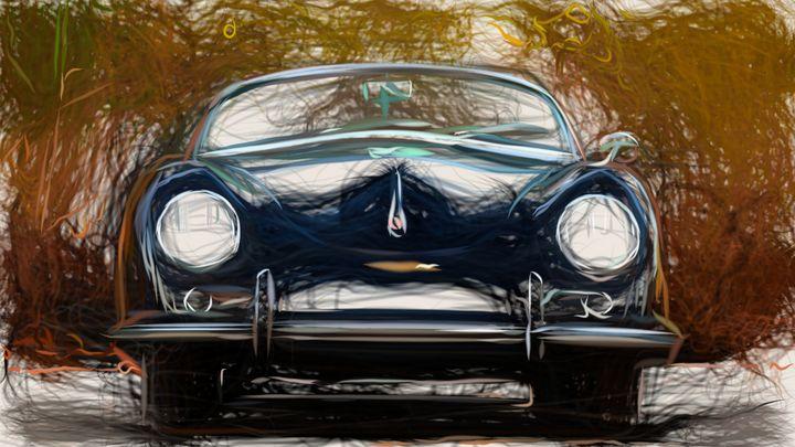 1954 Porsche 356 ID 11 - CarsToon