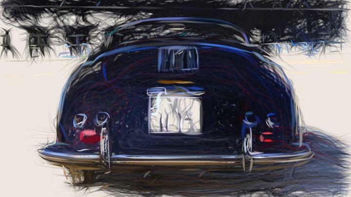 1955 Porsche 356A ID 46 - CarsToon