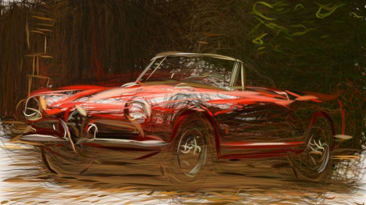 1956 Alfa Romeo Giulietta Spider ID - CarsToon