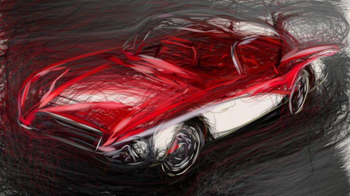 1956 Buick Centurion Concept ID 59 - CarsToon