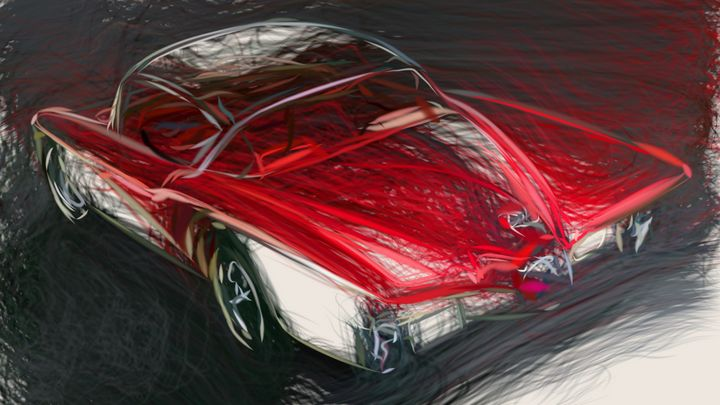 1956 Buick Centurion Concept ID 60 - CarsToon