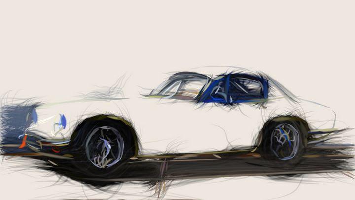 1957 Lotus Elite ID 91 - CarsToon