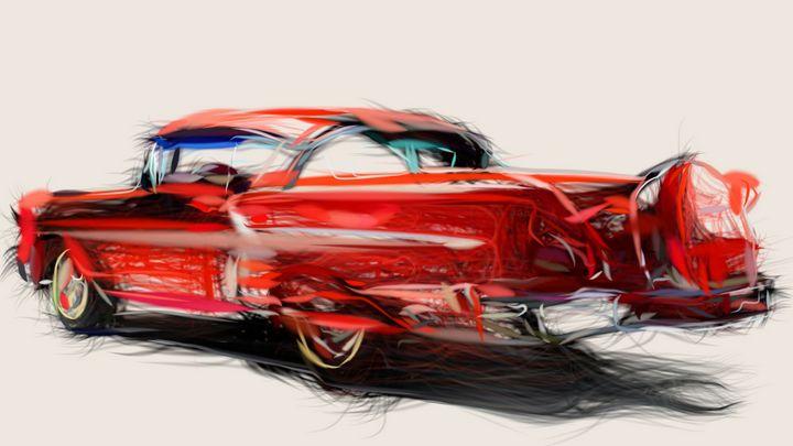 1958 Chevrolet Bel Air Impala ID 99 - CarsToon