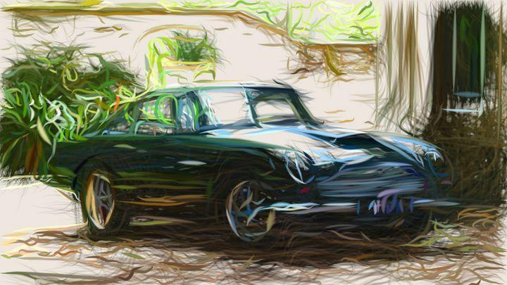1959 Aston Martin DB4 GT ID 115 - CarsToon