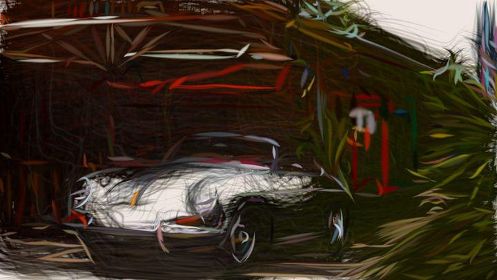1959 Porsche 356B ID 136 - CarsToon