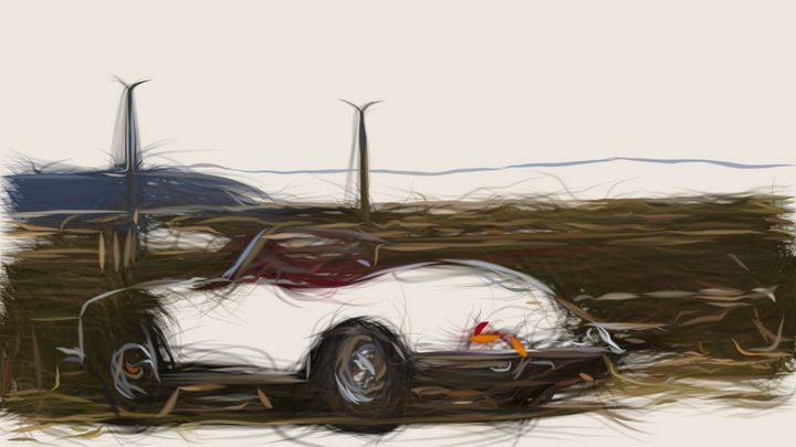 1959 Porsche 356B ID 138 - CarsToon