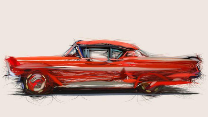 1958 Chevrolet Bel Air Impala - CarsToon