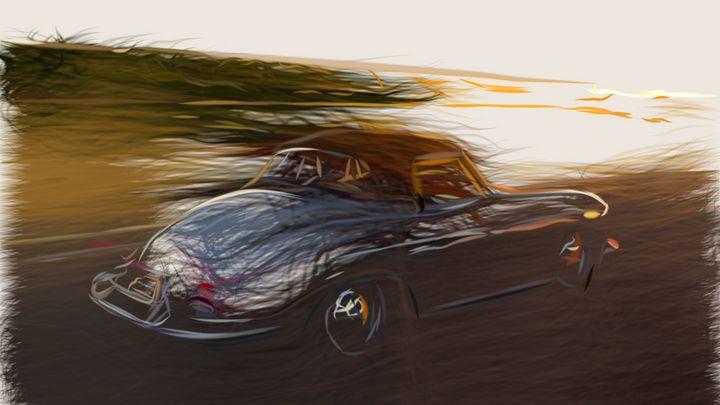1959 Porsche 356B ID 144 - CarsToon