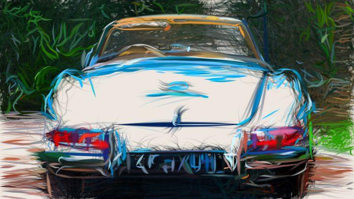 1960 Mercedes Benz 300 SL Roadster I - CarsToon