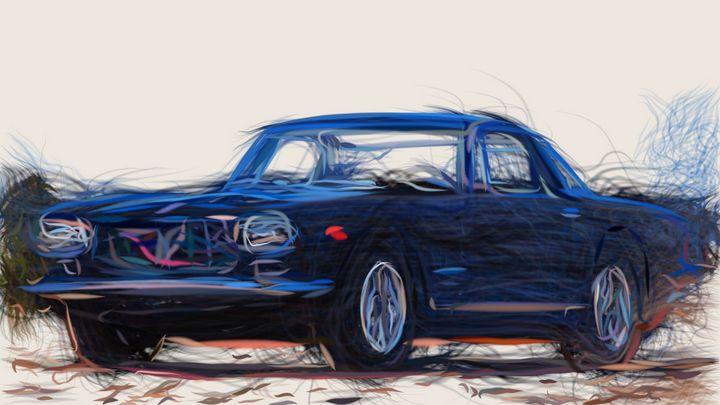 1961 Maserati 5000 GT Coupe ID 172 - CarsToon
