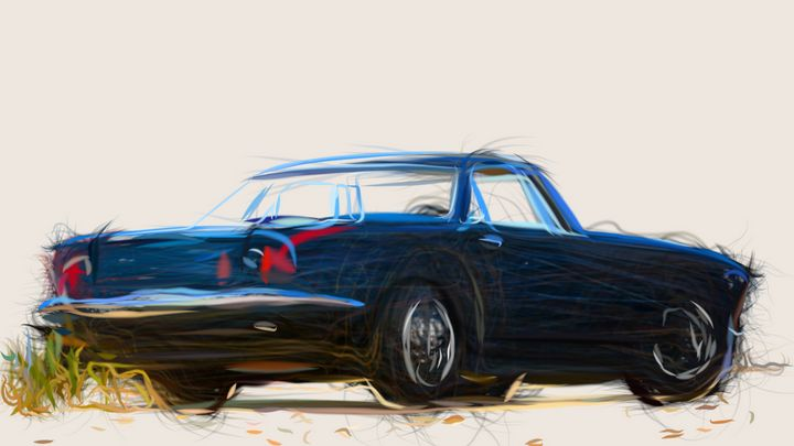 1961 Maserati 5000 GT Coupe ID 173 - CarsToon