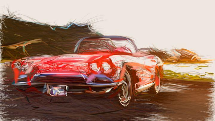 1962 Chevrolet Corvette ID 184 - CarsToon