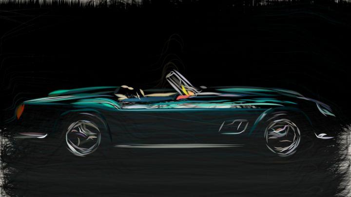 1963 Ferrari 250 GT California Spyde - CarsToon