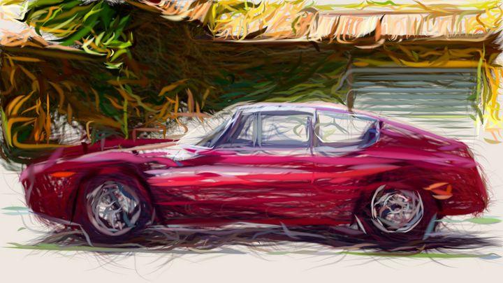 1964 Lancia Flavia Sport Corsa ID 28 - CarsToon