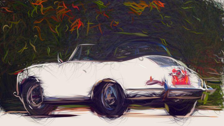 1964 Porsche 356C ID 302 - CarsToon