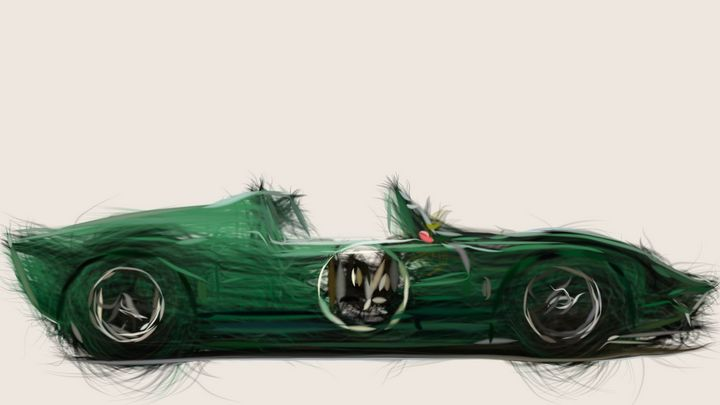 1965 Ford GT Roadster Prototype ID 3 - CarsToon