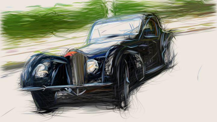 1937 Bugatti Type 57S Coupe 20 - CarsToon