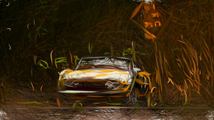 1966 Fiat Dino Spider ID 387 - CarsToon