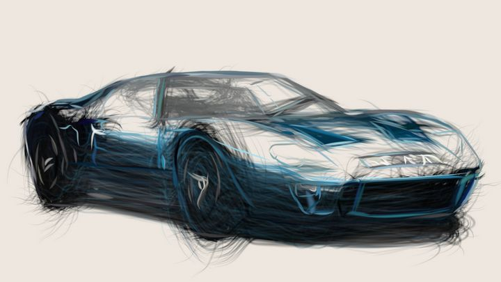 1966 Ford GT40 ID 398 - CarsToon