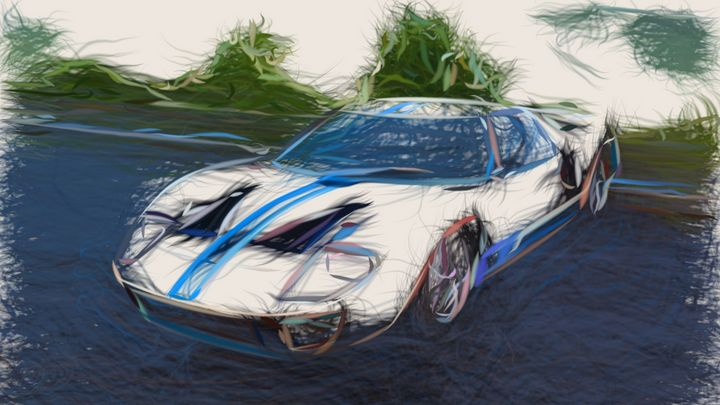 1966 Ford GT40 ID 403 - CarsToon