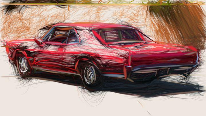 1966 Pontiac Tempest GTO ID 424 - CarsToon