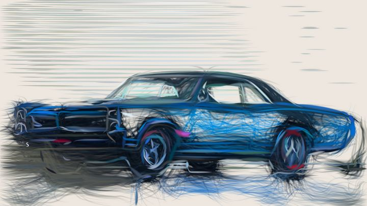 1966 Pontiac Tempest GTO ID 428 - CarsToon