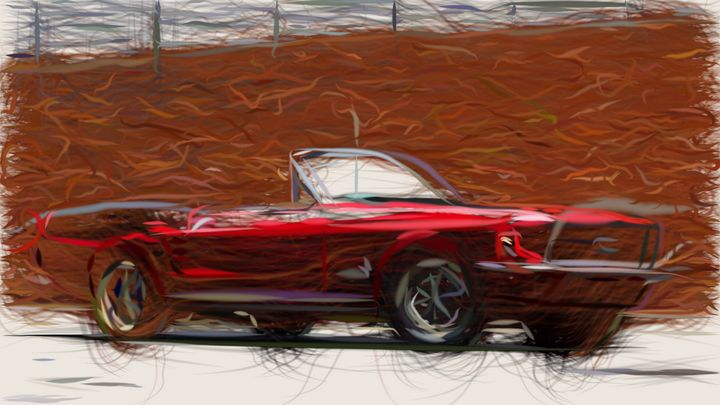 1967 Ford Mustang ID 478 - CarsToon