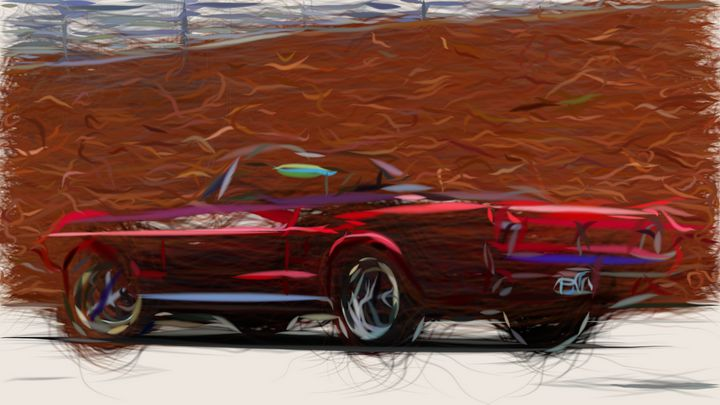 1967 Ford Mustang ID 479 - CarsToon