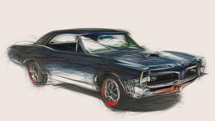 1967 Pontiac Tempest GTO ID 492 - CarsToon
