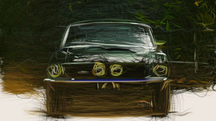 1967 Shelby GT350 ID 505 - CarsToon