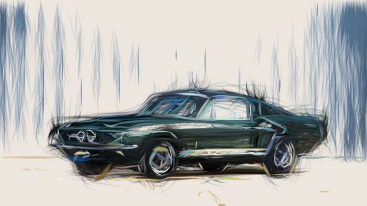 1967 Shelby GT500 ID 511 - CarsToon
