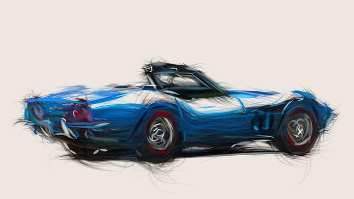 1969 Chevrolet Corvette Stingray 427 - CarsToon