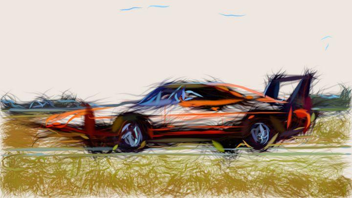 1969 Dodge Charger Daytona ID 621 - CarsToon