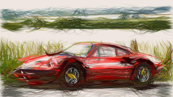 1969 Ferrari Dino 246 GT ID 660 - CarsToon