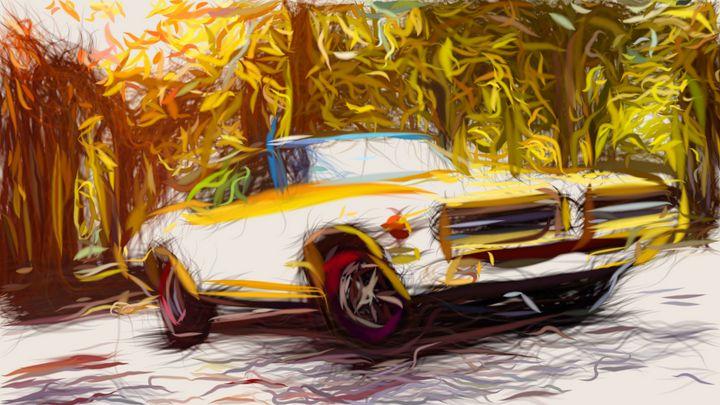 1969 Pontiac GTO Judge ID 724 - CarsToon